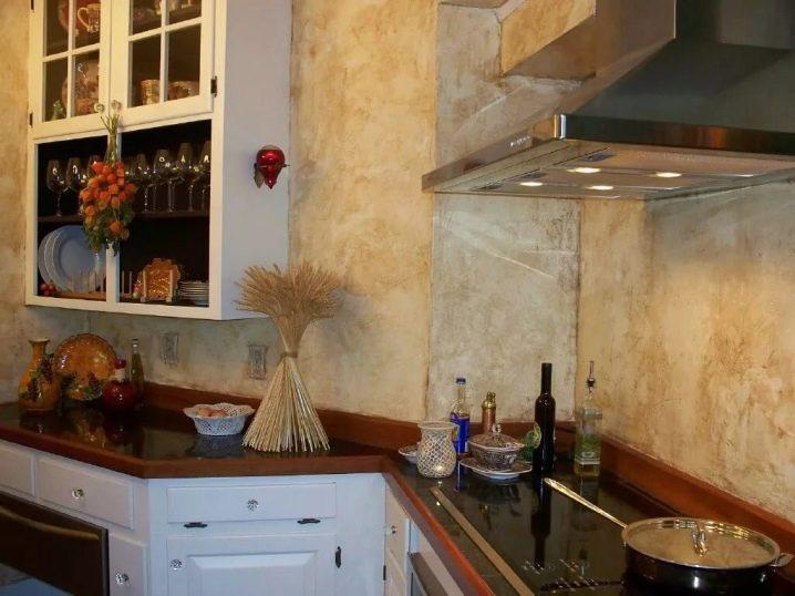 Tynk Dekoracyjny W Kuchni Rodzaje I Przykłady We Wnętrzu