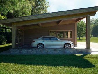 Garaj Dengan Kanopi Pilihan Yang Indah
