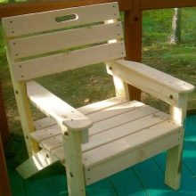 Bagaimana Untuk Membuat Kerusi Kayu