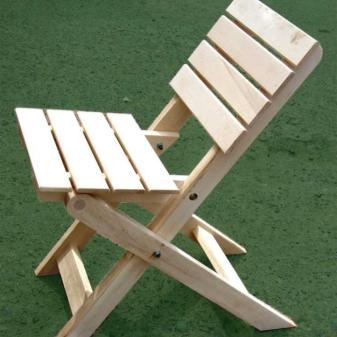 Membuat Kerusi Lipat Dengan Tangan