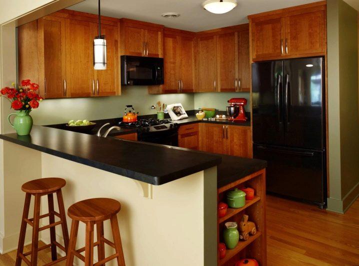 Set Dapur Dengan Kaunter Bar
