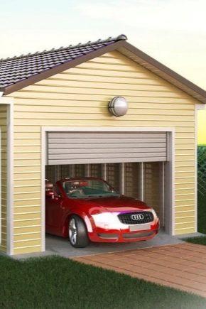 Saiz Garaj Untuk 1 Kereta Ciri Pengiraan