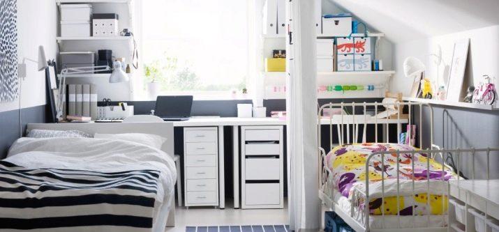 Sypialnia I Pokój Dziecinny W Jednym Pokoju