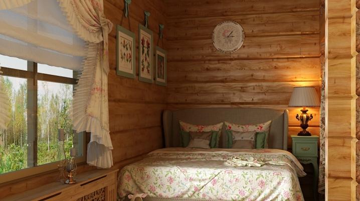Bilik Tidur Di Sebuah Rumah Kayu